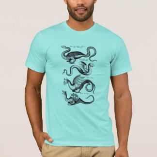 Vier Drachen von der Mythologie T-Shirt