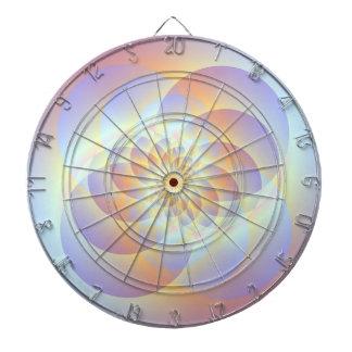 Vier Kreise winden sich Dartboard Dartscheibe