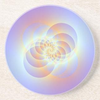 Vier Kreise winden sich Untersetzer