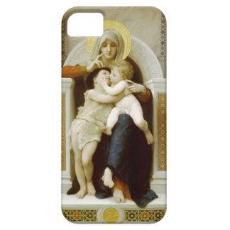 Vierge, Jésus et St John de William Bouguereau-The Étuis iPhone 5