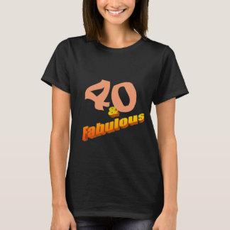Vierzig u. fabelhaftes T-Shirt