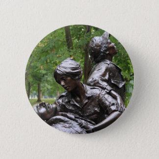 Vietnam-Frauen Erinnerungs Runder Button 5,1 Cm