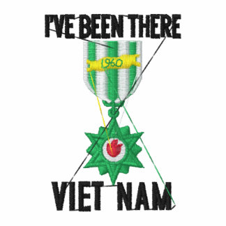 Vietnam-Veteran Bestickte Polos