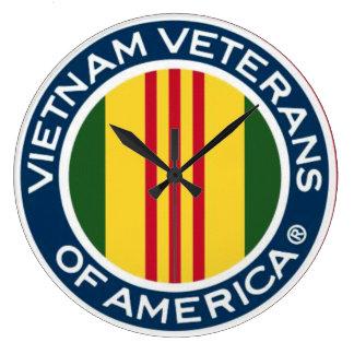Vietnam-Veterane von Amerika-Uhr Große Wanduhr