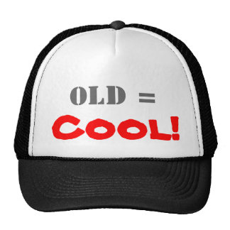 Vieux = cool ! casquettes de camionneur