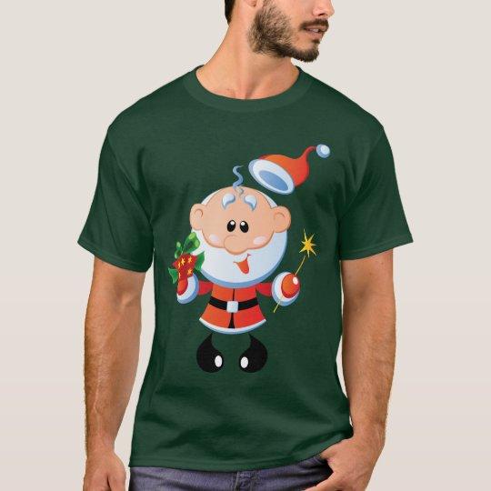 Vieux T-shirt drôle gai de St Nick