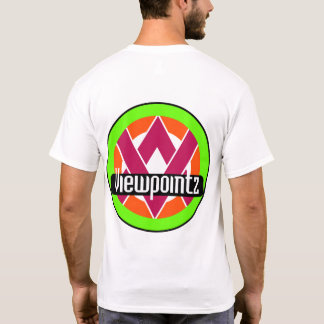 Viewpointz Logo-Rückseite T-Shirt