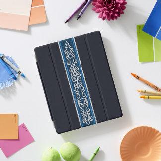Viking-Muster-Blau iPad Hülle