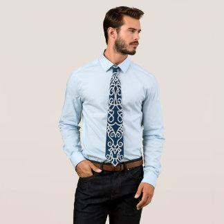 Viking-Muster-Blau Krawatten