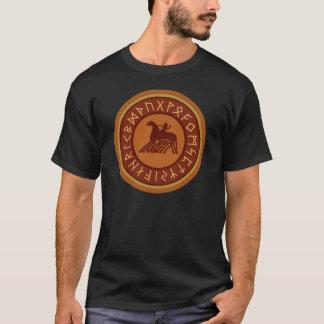 Viking-Runen Sleipnir Odin Emblem T-Shirt