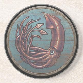 Viking-Schild - Kraken Untersetzer