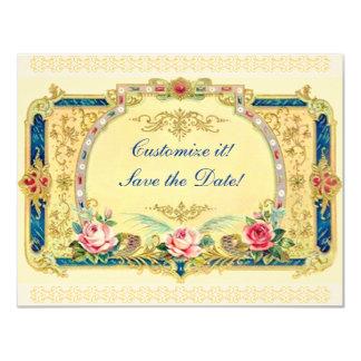 Viktorianisch - Hochzeit, Verlobung, Save the Date Individuelle Ankündigungen