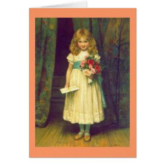 Viktorianische alles Gute zum Geburtstagkarte Karte