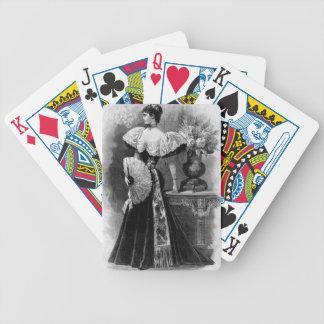 Viktorianische Anmut-Spielkarten Bicycle Spielkarten