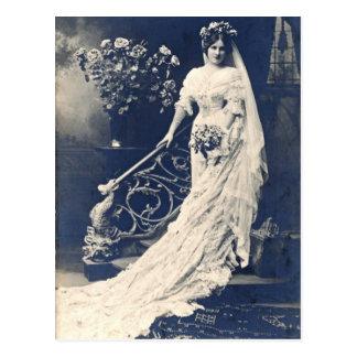 Viktorianische Braut Postkarten