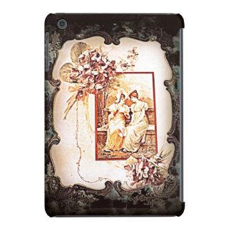Viktorianische Damen im Garten entwerfen iPad Fall iPad Mini Retina Schalen