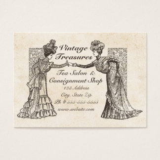 Viktorianische Damen Visitenkarte