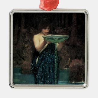 Viktorianische feine Kunst, Circe Invidiosa durch Silbernes Ornament