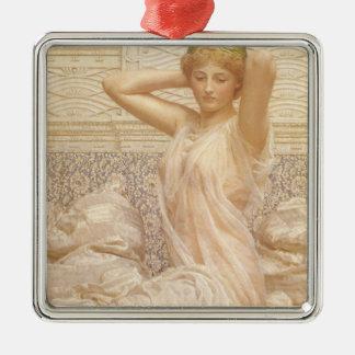 Viktorianische feine Kunst, Silber durch Albert Silbernes Ornament