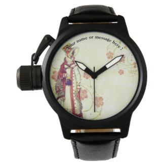 Viktorianische Frau Uhr