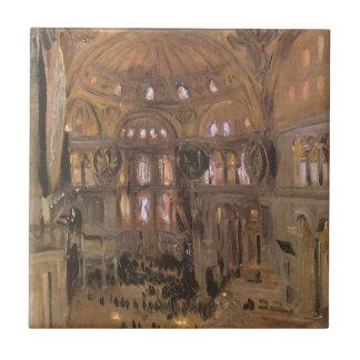 Viktorianische Kunst, Skizze von Sankt Sophia Keramikfliese