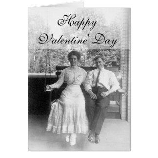 Viktorianische Paare Karte