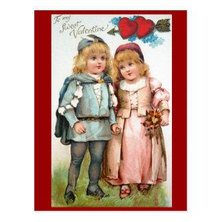 Viktorianische Postkarte