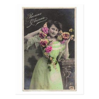 Viktorianische Vintage Postkarte