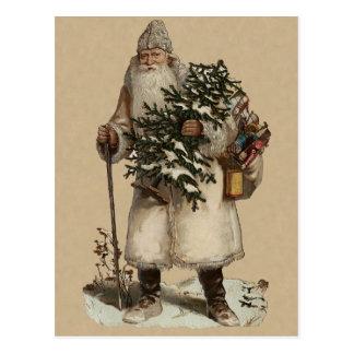 Viktorianische Weihnachtspostkarte Postkarte