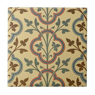 Viktorianischer Entwurf #8 @ Susiejayne Kleine Quadratische Fliese