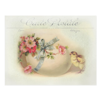 Viktorianischer Osternchic und -ei Postkarten