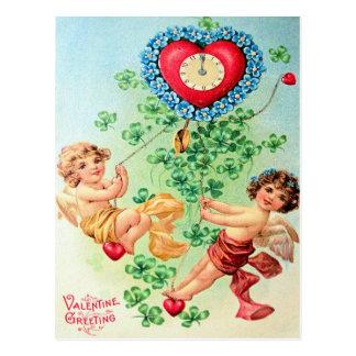 Viktorianischer Valentine Postkarte