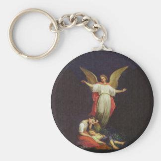 Viktorianischer Wächter-Engel Schlüsselanhänger