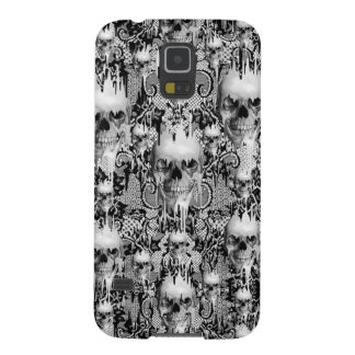Viktorianisches gotisches Spitzeschädelmuster Hülle Fürs Galaxy S5