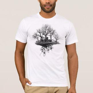 Ville d'arbre t-shirt