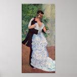Ville de La d'à de Pierre-Auguste Renoir - de Dans Poster