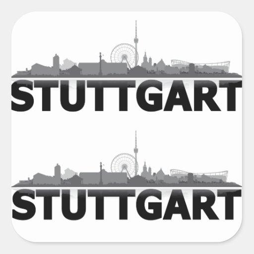 Ville de Stuttgart Skyline - autres idées de cadea