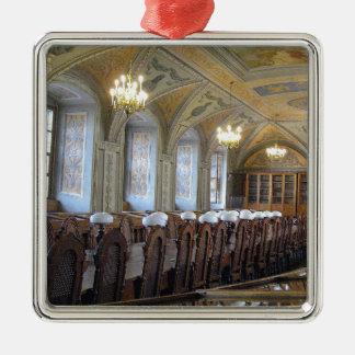 Vilnius-Hochschulbibliothek - LITAUEN --- Silbernes Ornament