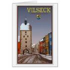 Vilseck - Turm und Tor - Winter Karte