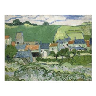 Vincent van Gogh - Ansicht von Auvers Postkarte