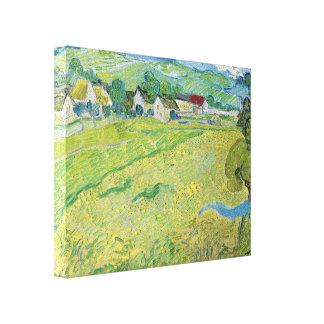 Vincent van Gogh-Ansicht von Vessenots nahe Auvers Gespannte Galerie Drucke