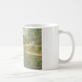 Vincent van Gogh - Bank der Seines Kaffeetasse