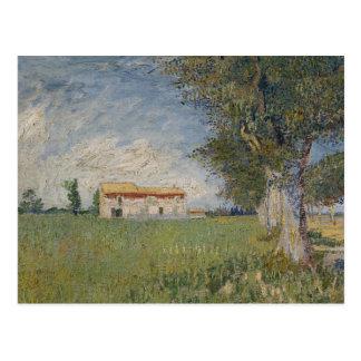 Vincent van Gogh - Bauernhaus auf einem Postkarte
