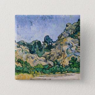 Vincent van Gogh | der Alpilles, 1889 Quadratischer Button 5,1 Cm