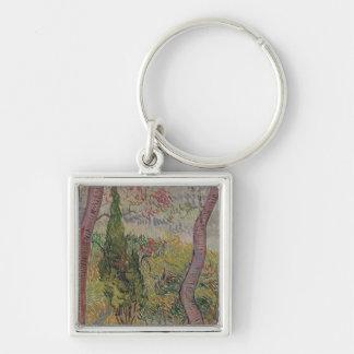 Vincent van Gogh | der Park im St Paul Schlüsselanhänger