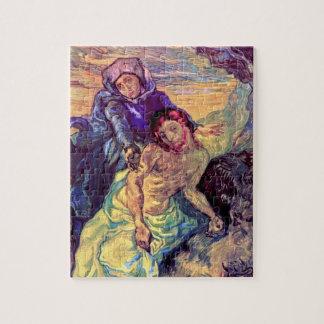 Vincent van Gogh - der Pieta - Jesus u. Jungfrau