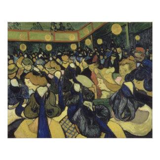 Vincent van Gogh - der Tanz Hall in Arles Photographischer Druck