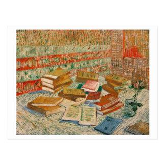 Vincent van Gogh | die gelben Bücher, 1887 Postkarte