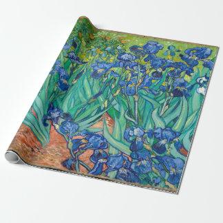 VINCENT VAN GOGH - Iris 1889 Geschenkpapier