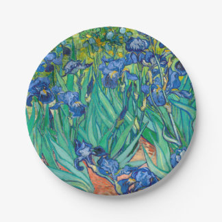 VINCENT VAN GOGH - Iris 1889 Pappteller